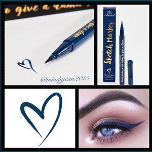 Too Faced Sketch Marker 💙 deep navy blue